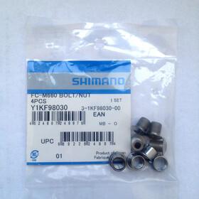Shimano SLX FC-M660 Kettenblattschrauben silber